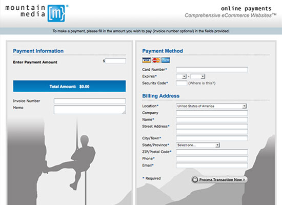 Online Payment Page Samples | Create Your Online Payment System